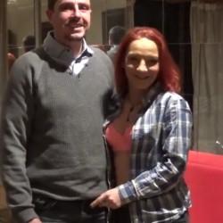 Una MILF rusa llamada Suky y su novio Ignacio, se estrenan en el porno en PepePorn
